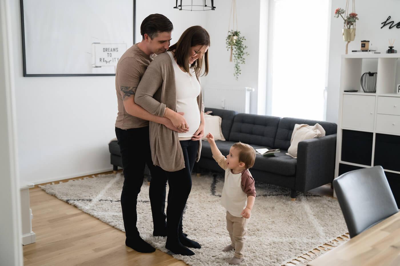 Schwangerschaftsbilder von Sarah Herzfoto